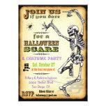 Invitaciones esqueléticas del fiesta de Halloween  Anuncio