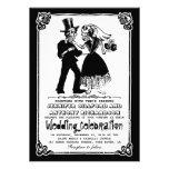 invitaciones esqueléticas muertas del boda de los  comunicados