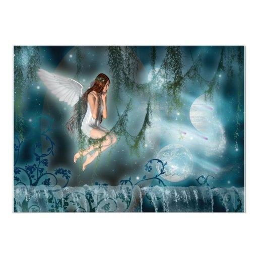 Invitaciones - faeries adaptables de la plantilla invitacion personalizada