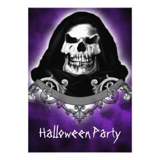 Invitaciones fantasmagóricas del fiesta de Hallowe Invitación