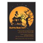 Invitaciones fantasmagóricas del fiesta de Hallowe Invitación Personalizada