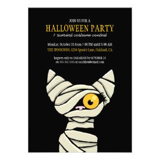 Invitaciones fantasmagóricas del fiesta de Hallowe