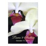 Invitaciones formales 5x7 del boda de las invitación