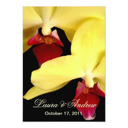 Invitaciones formales 5x7 del boda de las comunicados
