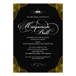 Invitaciones formales de la bola de mascarada anuncios
