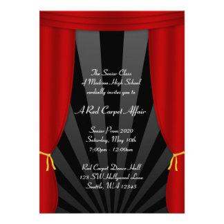 Invitaciones formales del baile de fin de curso ro