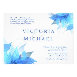 Invitaciones formales rancias del boda comunicados personalizados
