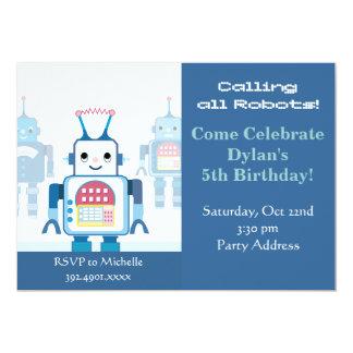 """Invitaciones frescas de la fiesta de cumpleaños invitación 5"""" x 7"""""""