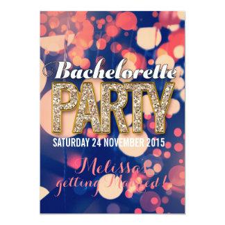 Invitaciones frescas del fiesta de Bachelorette de Invitación