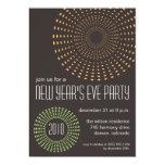 Invitaciones geométricas del fiesta de los Años Anuncios Personalizados