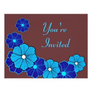 Invitaciones hawaianas comunicados personales