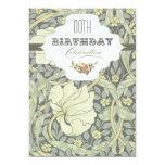 invitaciones hermosas del cumpleaños de la comunicados
