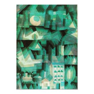 """Invitaciones ideales de la ciudad de Paul Klee Invitación 4.5"""" X 6.25"""""""