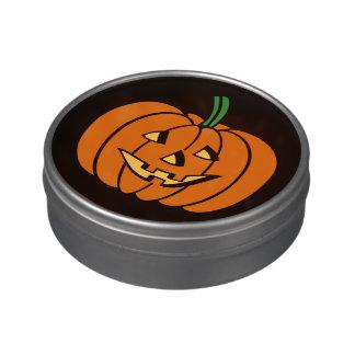 Invitaciones lindas de Halloween de la Jarrones De Caramelos