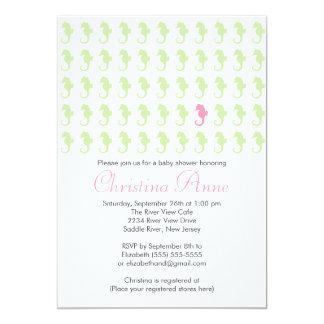 Invitaciones lindas de la fiesta de bienvenida al comunicado personalizado