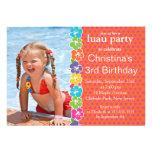 Invitaciones lindas de la fiesta de cumpleaños de