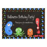 Invitaciones lindas de la fiesta de cumpleaños de  comunicados personalizados