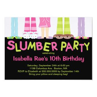 """Invitaciones lindas de la fiesta de cumpleaños de invitación 5"""" x 7"""""""