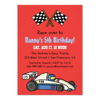Invitaciones lindas de la fiesta de cumpleaños del invitación 11,4 x 15,8 cm