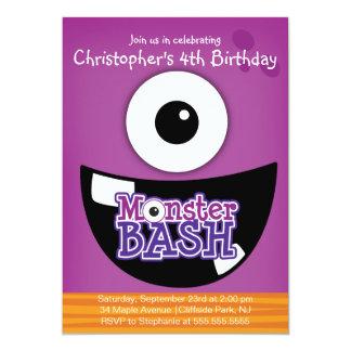 Invitaciones lindas de la fiesta de cumpleaños del invitación personalizada