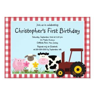 Invitaciones lindas de la fiesta de cumpleaños del comunicado