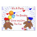 Invitaciones lindas del fiesta de los niños de la comunicados personales