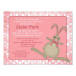 Invitaciones lindas del fiesta de Pascua del Invitación 10,8 X 13,9 Cm
