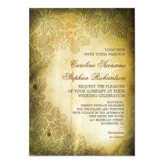 invitaciones llevadas lamentables del boda del invitación 12,7 x 17,8 cm