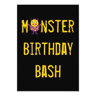 """Invitaciones locas de la fiesta de cumpleaños de invitación 5"""" x 7"""""""