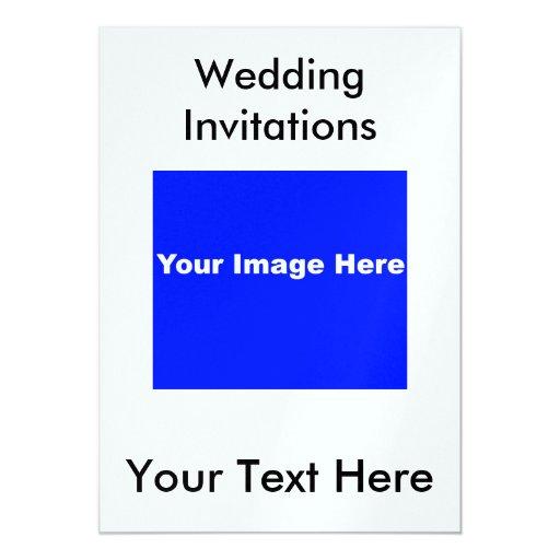 Invitaciones metálicas del boda del hielo comunicados personales
