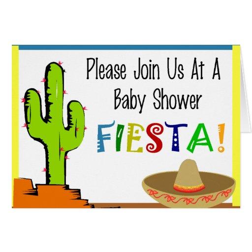 Invitaciones mexicanas de la fiesta de bienvenida  tarjeta de felicitación