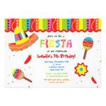 Invitaciones mexicanas de la fiesta de cumpleaños  invitación personalizada