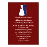 Invitaciones militares del boda comunicado personalizado