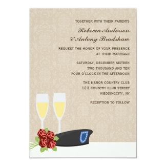 """Invitaciones militares del boda invitación 5"""" x 7"""""""