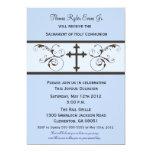 Invitaciones modernas de la comunión para los invitacion personalizada