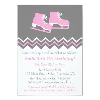 """Invitaciones modernas de la fiesta de cumpleaños invitación 4.5"""" x 6.25"""""""