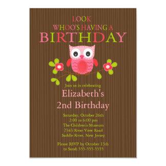 Invitaciones modernas lindas de la fiesta de invitación 12,7 x 17,8 cm