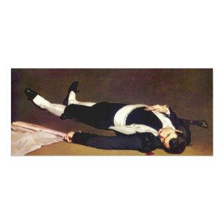 Invitaciones muertas de Manet Matador Invitación 10,1 X 23,5 Cm