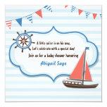 Invitaciones náuticas de la fiesta de bienvenida comunicados personales