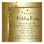 Invitaciones negras elegantes de la fiesta de Navi Invitación Personalizada
