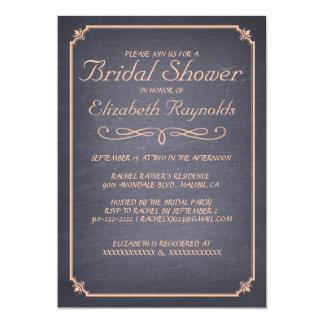 Invitaciones nupciales coralinas de la ducha de la anuncios personalizados