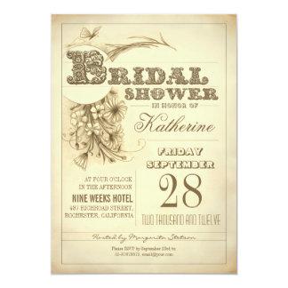 invitaciones nupciales de la ducha de la comunicados personales