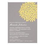 Invitaciones nupciales de la ducha de la flor amar comunicados
