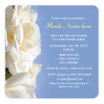 invitaciones nupciales de la ducha de la flor del invitación 13,3 cm x 13,3cm