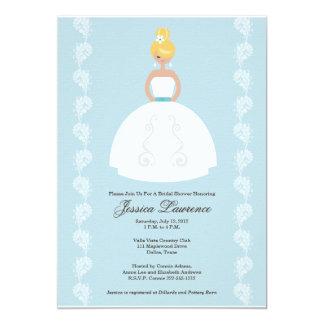 Invitaciones nupciales de la ducha de la novia invitación 12,7 x 17,8 cm