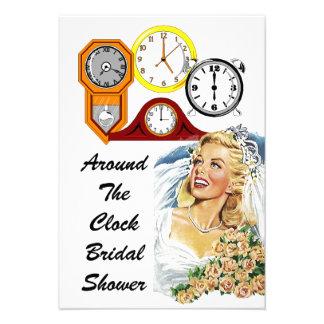 Invitaciones nupciales de la ducha del anfitrión l invitación personalizada