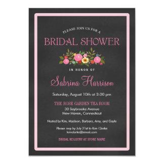 Invitaciones nupciales de la ducha del estilo anuncio personalizado