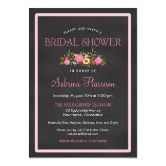 Invitaciones nupciales de la ducha del estilo invitación 11,4 x 15,8 cm
