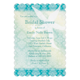 Invitaciones nupciales de la ducha del verano de invitaciones personales