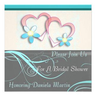 Invitaciones nupciales del boda modernas de la duc invitacion personalizada
